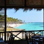 vue du restaurant Hispaniola