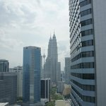 Day view of Petronas Twin Tower from Terrace