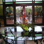 Lobby Richtung Gartenbereich