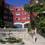 Hotel Gartenbereich