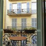 our petit balcon