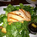 Great salmon, sodden romaine