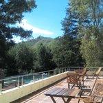 Vista desde el área del solarium y balcón.