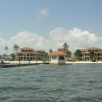 Coco Beach Resort from the water