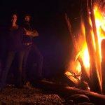 The bon fire