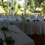 Our beautiful head table