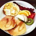 Gabriel's breakfast!