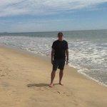 beach at posada