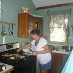 Slaving over a hot stove