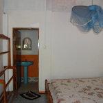Living room in bungalow