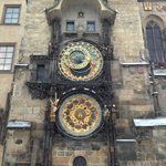 medieval astronomic clock in Old Town Prague