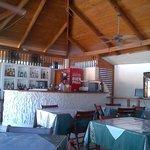 Bar del restaurante y caja