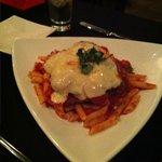 Chicken parmigiano at Bellini's