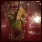 spiced apple mohito