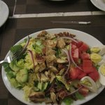 geat Cobb salad
