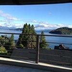 Vista del lago desde la habitación