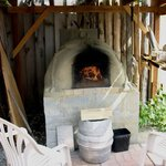 We have a working cob oven