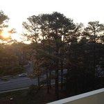 View from sixth floor balcony