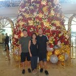 Christmas tree Manila Peninsula