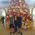 Christmas tree Manila Peninsula