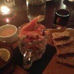 love the prawn starter