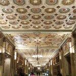 Iconic center corridor