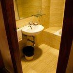 Twin room interior - bathroom