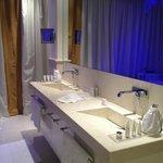 Bathroom in spa suite