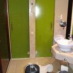Toilet separado da ducha