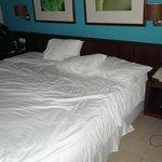 cama muito grande