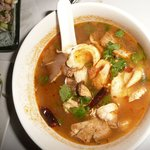 Tom Yam with dried chili