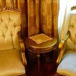 Sitting area, hotel room