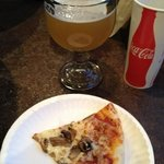 pizza & a beer - fabulous!