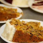 Our delicious homemade carrot cake 573-546-4249