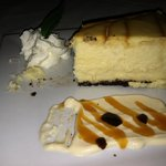 Bailey's Cheescake, minus a forkful :D