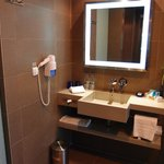 Functional and clean bathroom