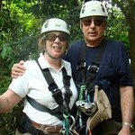 Ziplining was the thrill of a lifetime! We loved it!