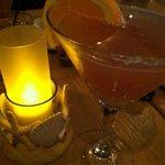 """The delicious """"The Garvey"""" martini"""