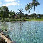 Lagoon downtown Airlie Beach
