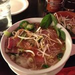 Pho soup w beef