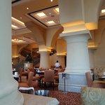 palace-like dining room