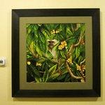 St. Kitts Monkey painting