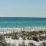 Beautiful dunes and gulf