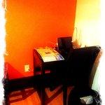 Desk with Ipad