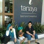 front of tanaya