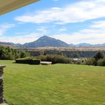 Mount Maude from the verandah