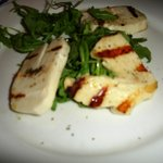 Grilled Haloumi appetizer