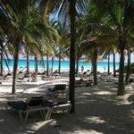 plage privée de l hotel