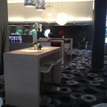 hotel bar with big sofa's
