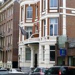 Front entrance Piet Hein hotel